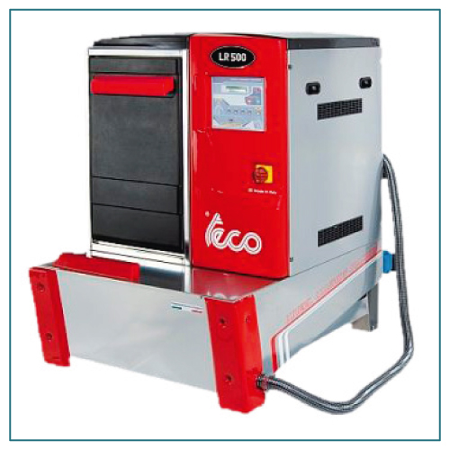 teco LR 500 Radwaschmaschine bis max. 65 kg Radgewicht