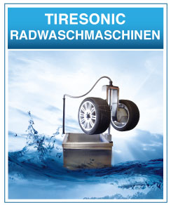 Tiresonic Ultraschall Radwaschmaschinen